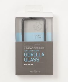 "ABSOLUTE TECHNOLOGY / ""LINKASE CLEAR"" Gorilla Glass for iPhone X"
