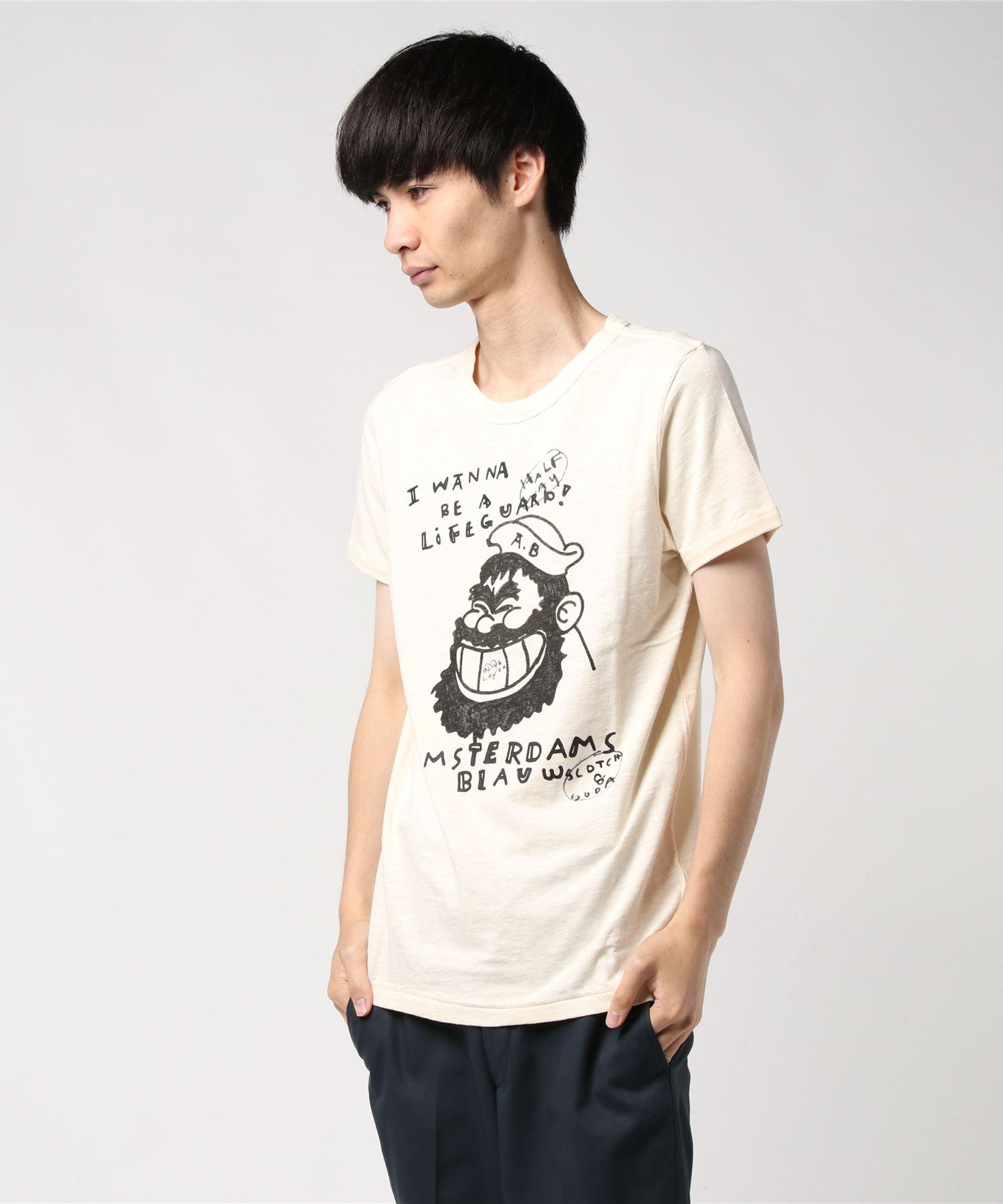 SCOTCH & SODA スコッチアンドソーダ / イラストTシャツ