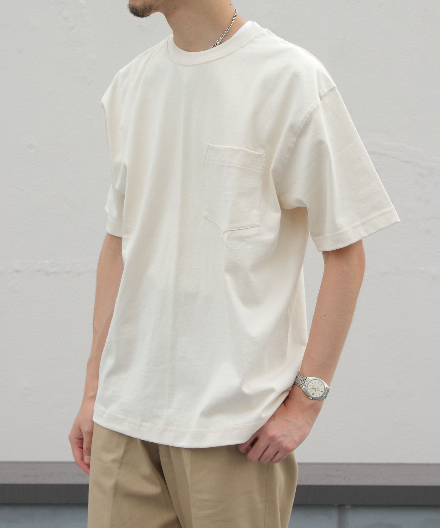 CAMBER/キャンバー ポケットTEE 302