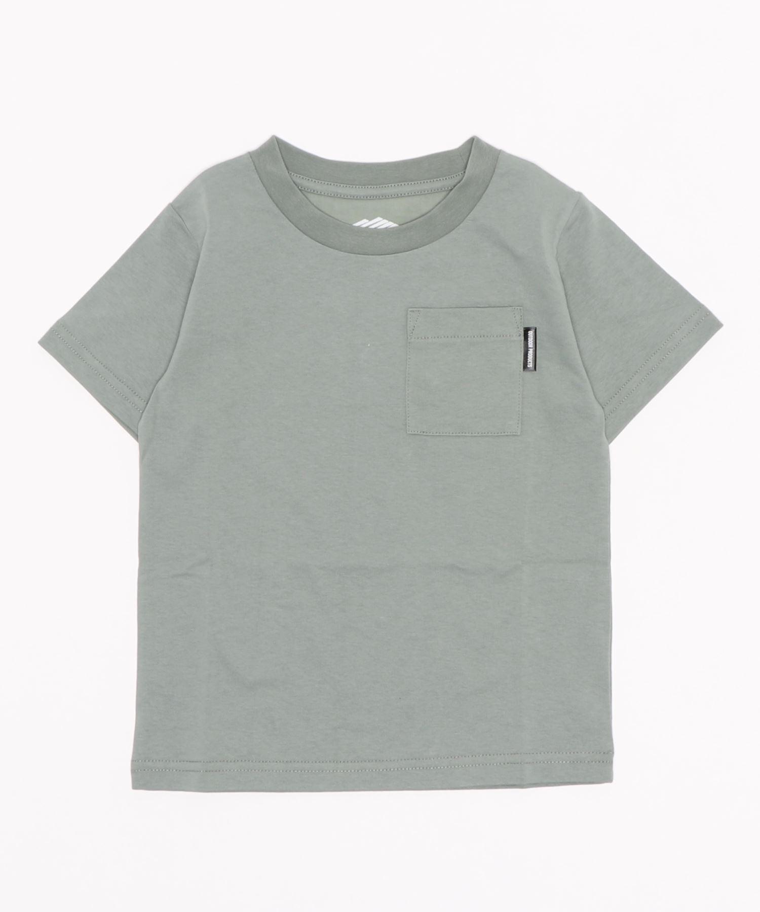 触れるとヒンヤリ接触冷感ポケットKIDSTシャツ