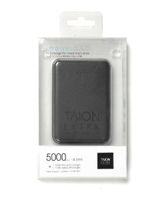 """TAION EXTRA × ABSOLUTE / """"Ultra mini 5000"""" モバイルバッテリー"""