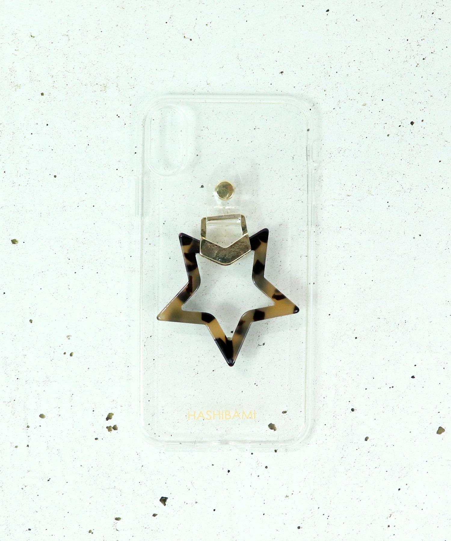 【 Hashibami / ハシバミ 】 # salle de bal別注 iPhone X/XS スマホ・携帯カバー リング付きケース