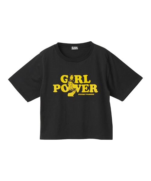 GIRL POWER ショートTシャツ