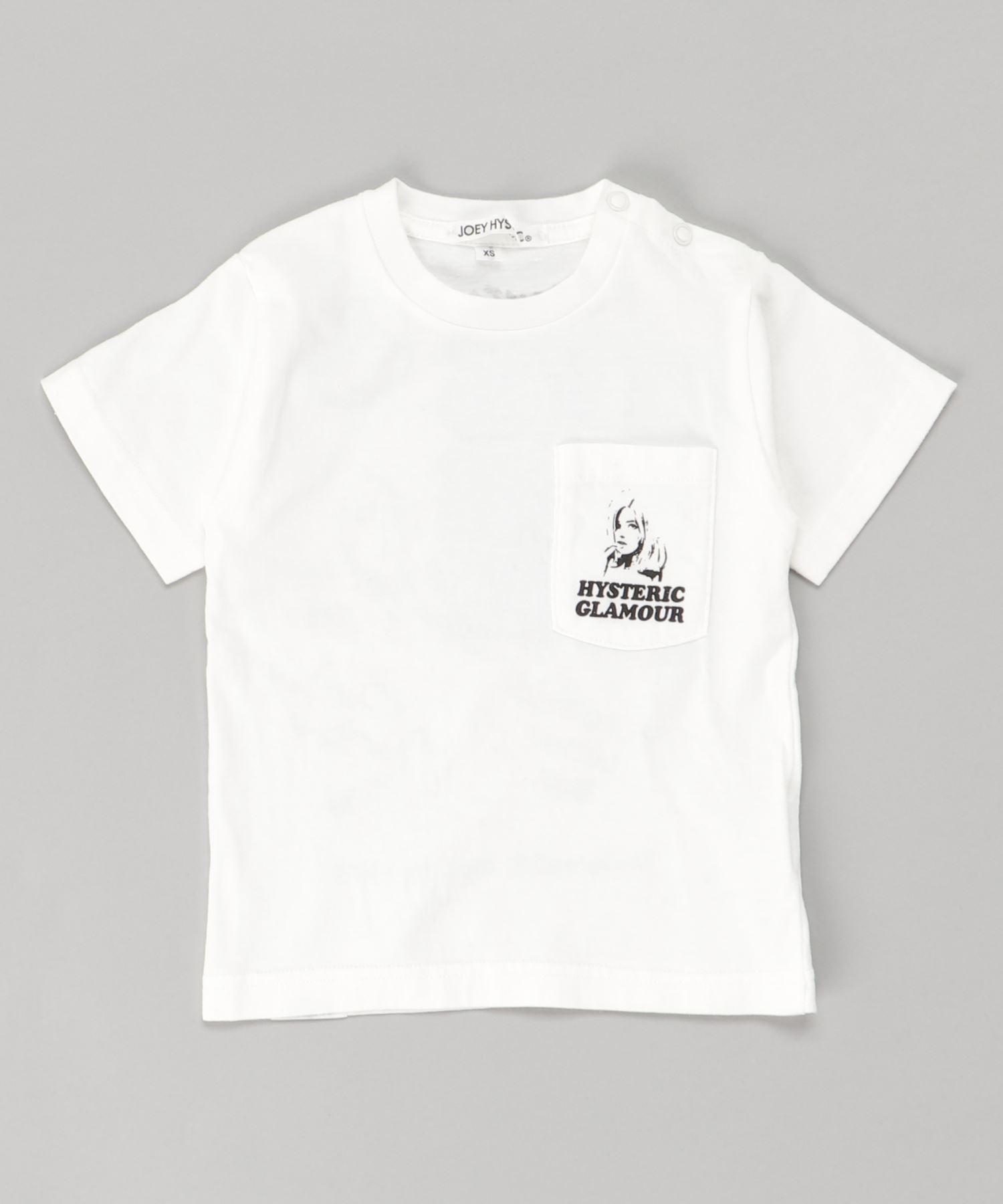 PARANOID LETTER BOX ポケット付きTシャツ【XS/S/M】