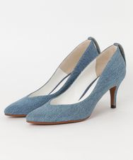 DENIM POINTED TOE パンプス