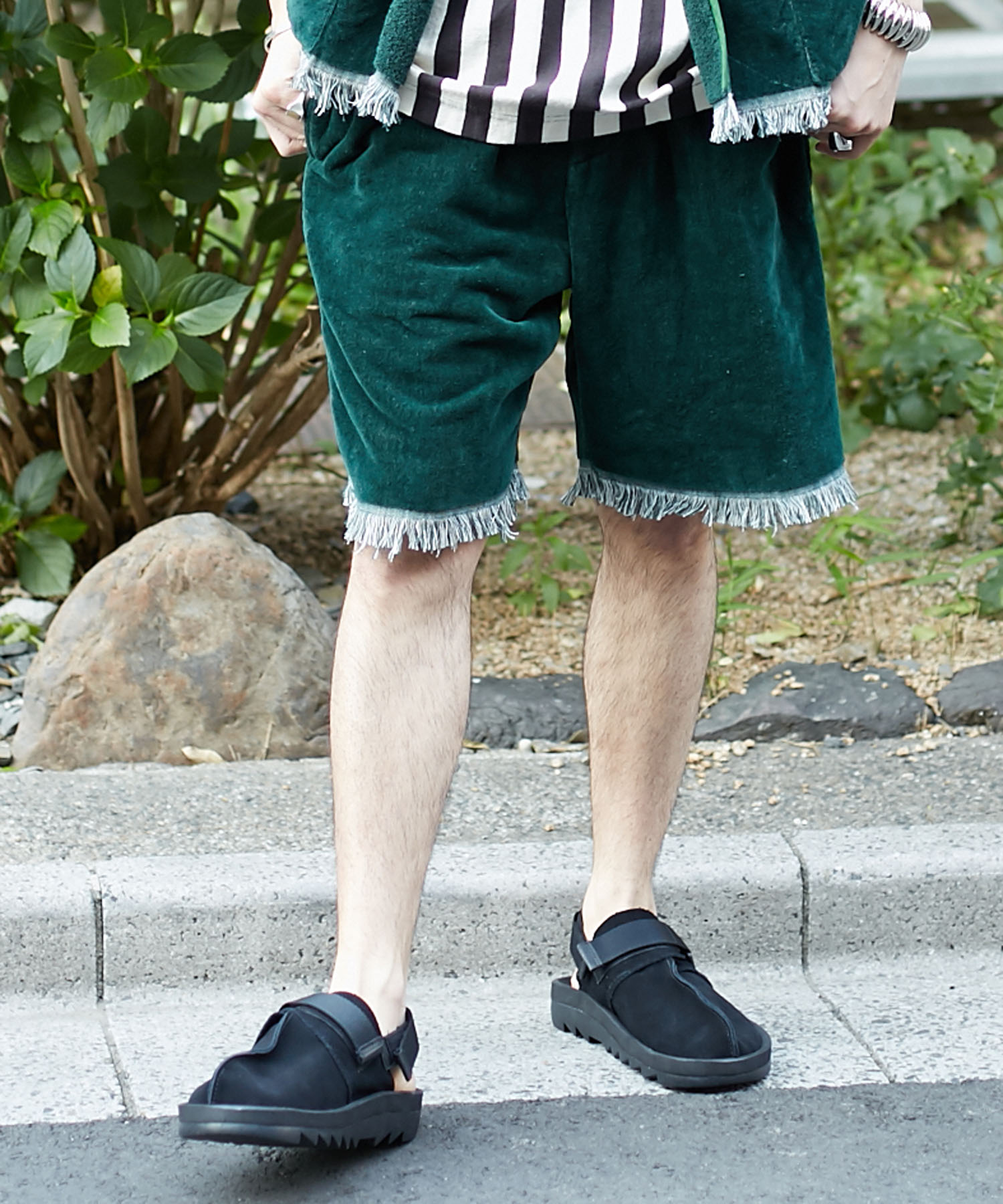 FILL THE BILL for AMERICAN RAG CIE フィルザビル / TOWEL BEACH SHORTS