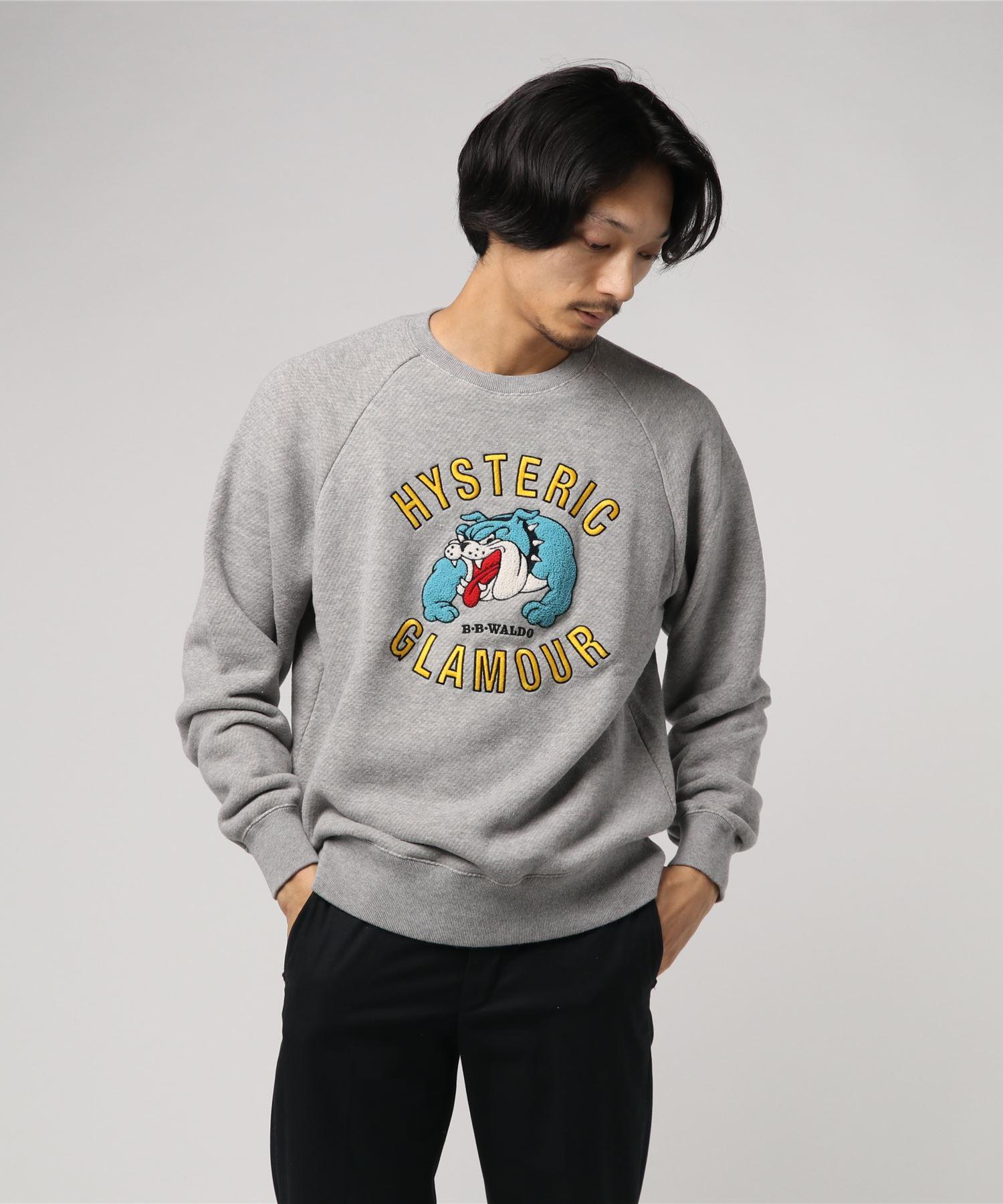 BB WALDO刺繍 スウェット