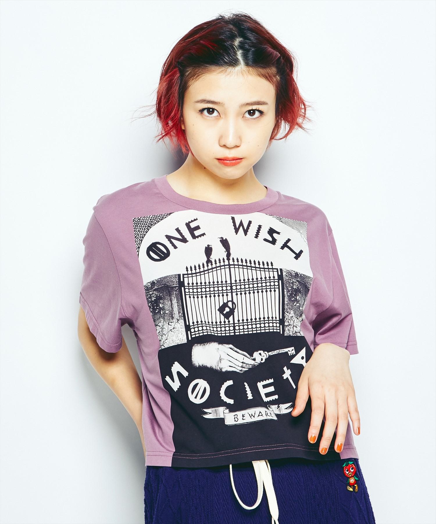 NIAGARA/ONE WISH SOCIETYショートTシャツ