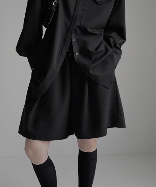 【chuclla】【2021/SS】Flare easy half pants chw1538