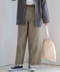 【6色展開・WEB限定カラー/サイズ】カラーワイドパンツ(カラーパンツ/ニュアンスカラー/くすみカラー)#