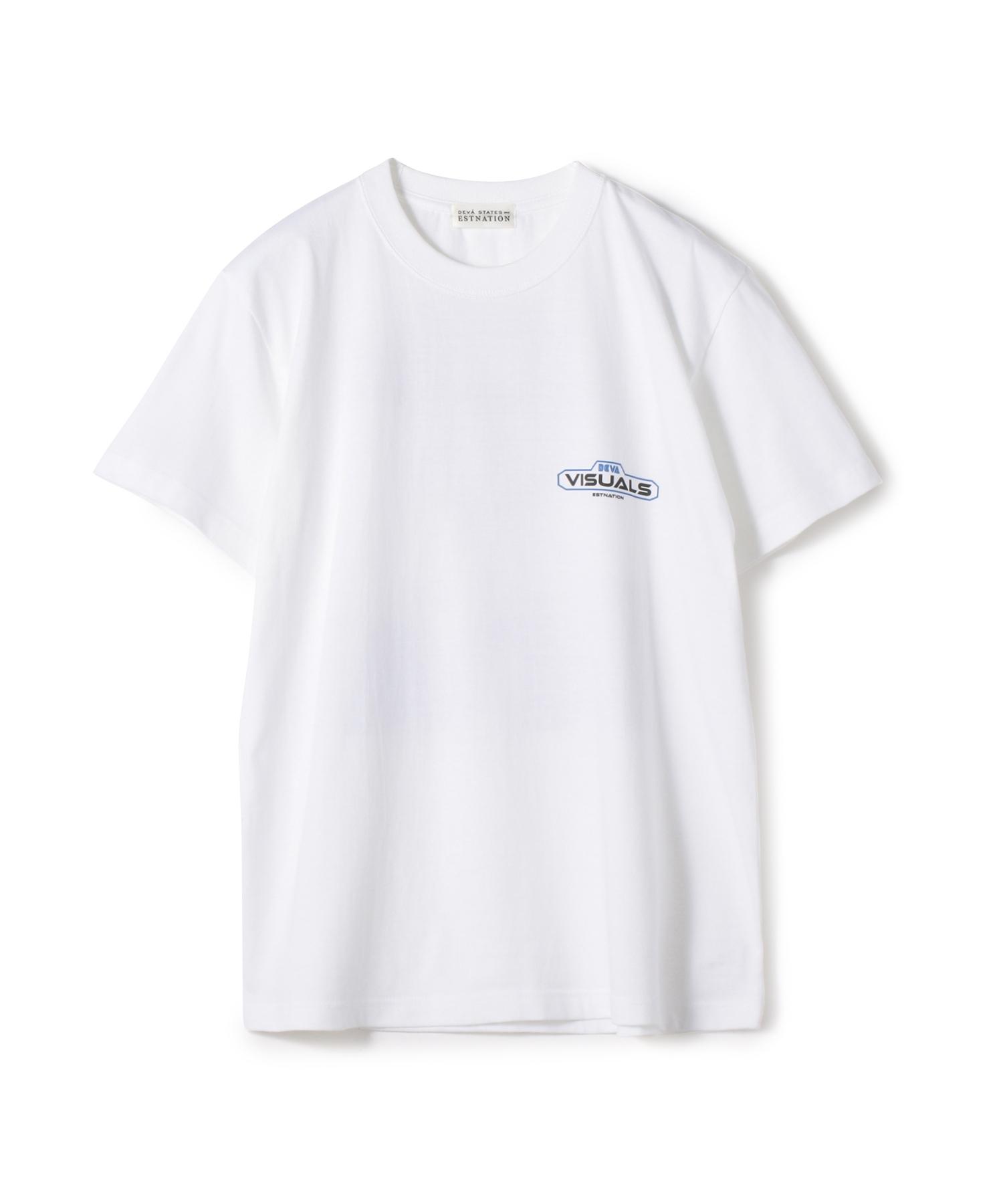 "DEVA STATES / ""VISUALS"" Tシャツ《ESTNATION EXCLUSIVE》"