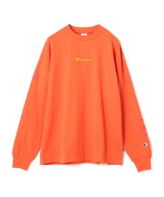 CHAMPION / LOGO ロングスリーブTシャツ《ESTNATION EXCLUSIVE》
