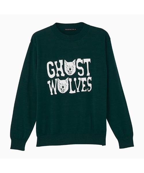 THE GHOST WOLVES/GW LOGO プルオーバー