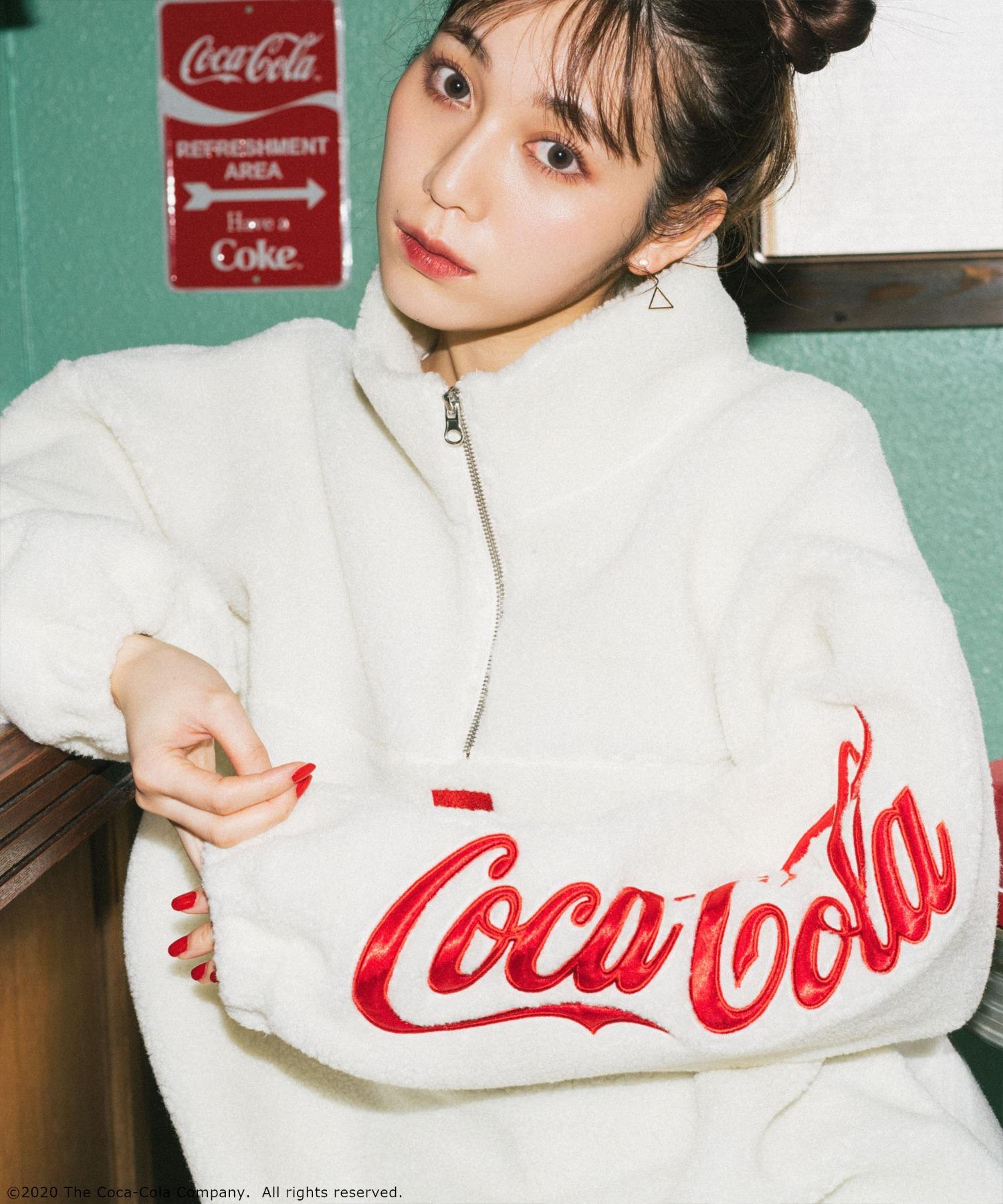【コカ・コーラ】ハーフジップフリース