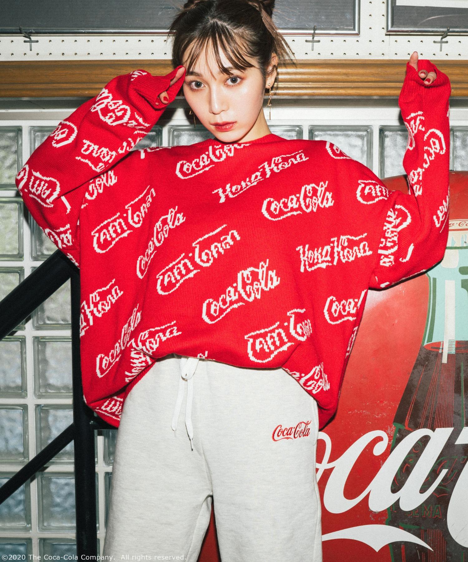 【コカ・コーラ】ジャガードニット