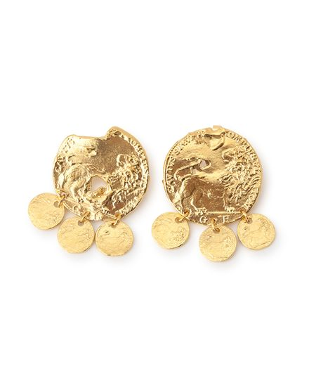 "alighieri ""The Baby Lion"" Pierced earrings"