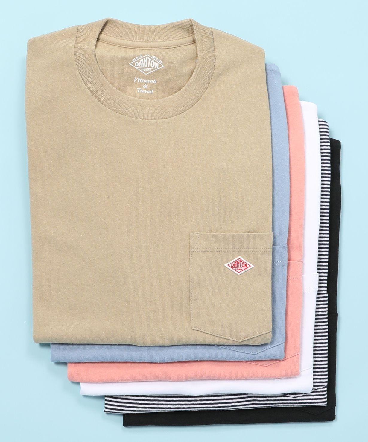 ダントン DANTON / ポケットTシャツ Pocket T-shirt