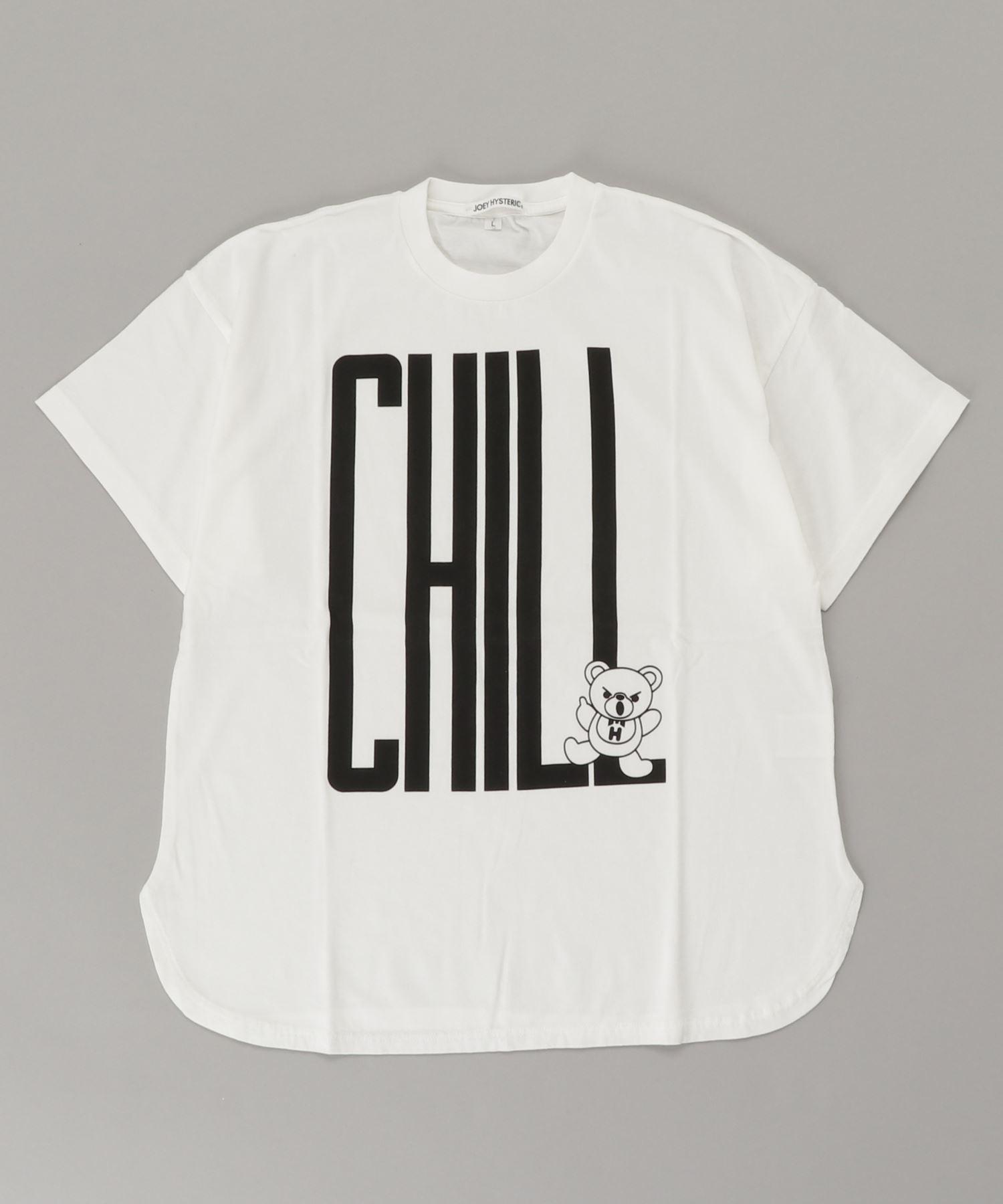 CHILL BEAR オーバーサイズTシャツ