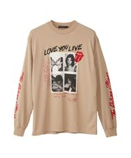 THE ROLLING STONES/LOVE YOU LIVE Tシャツ