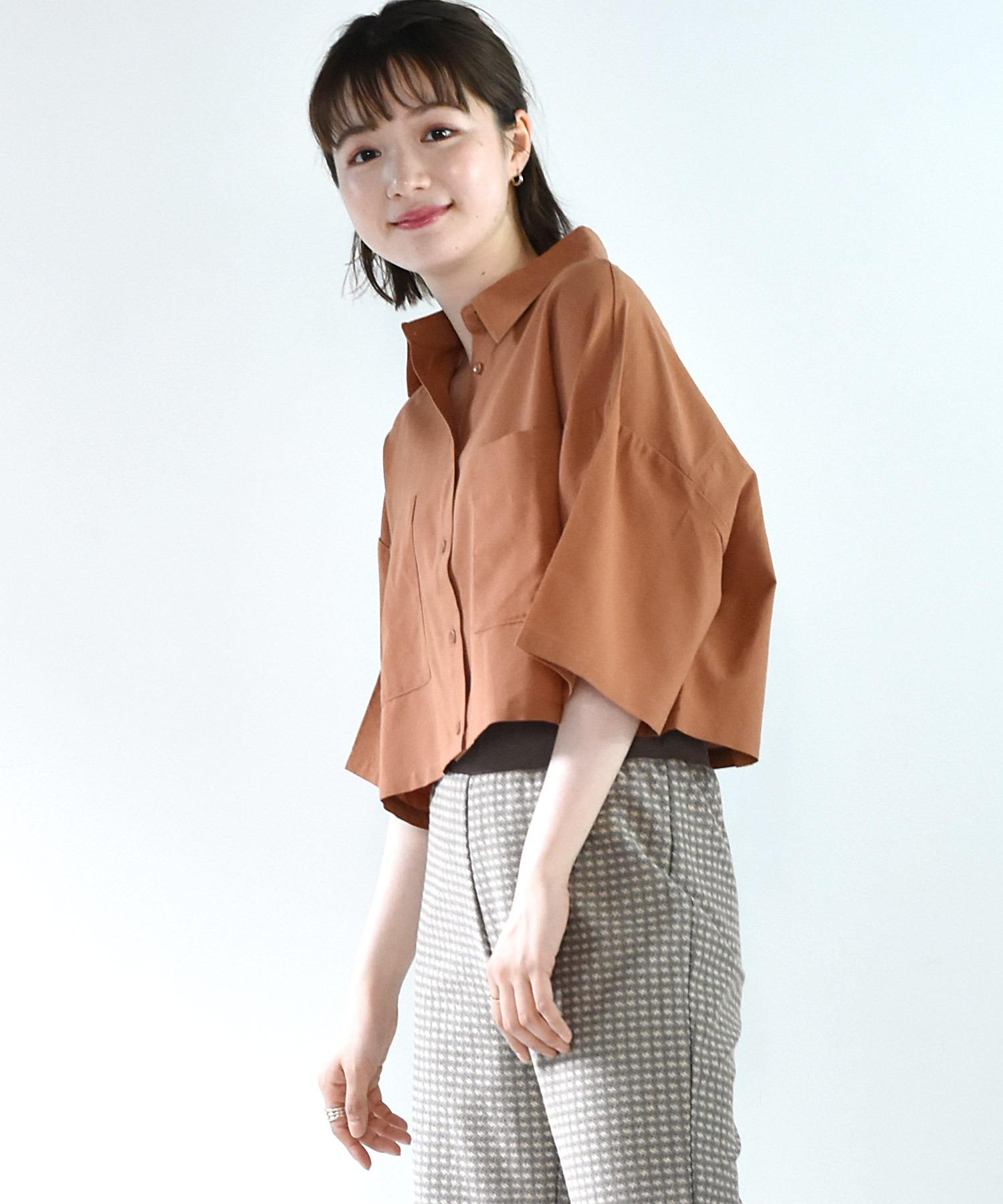 デカポケ半袖シャツ