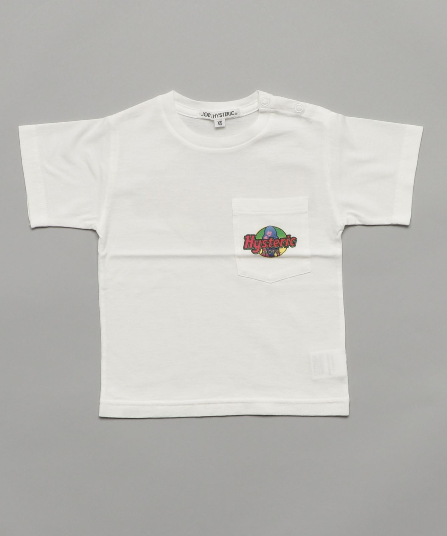 HYS MOTEL pt ポケ付Tシャツ【XS/S/M】