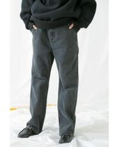 <monkey time> DENIM FLARE PAINTER/フレアデニム