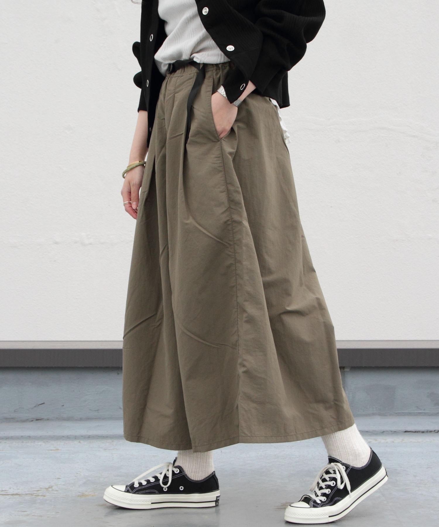 GRAMICCI/グラミチ シェルタックフレアパンツ SHELL TUCK FLARE PANTS(ウィメンズ)
