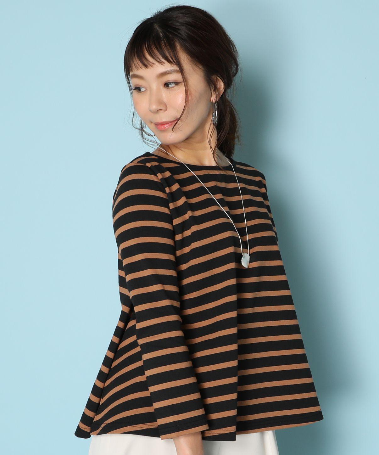 【別注カラー】ルミノア Le Minor / ボーダープルオーバー EVASEE Stripe Pullover