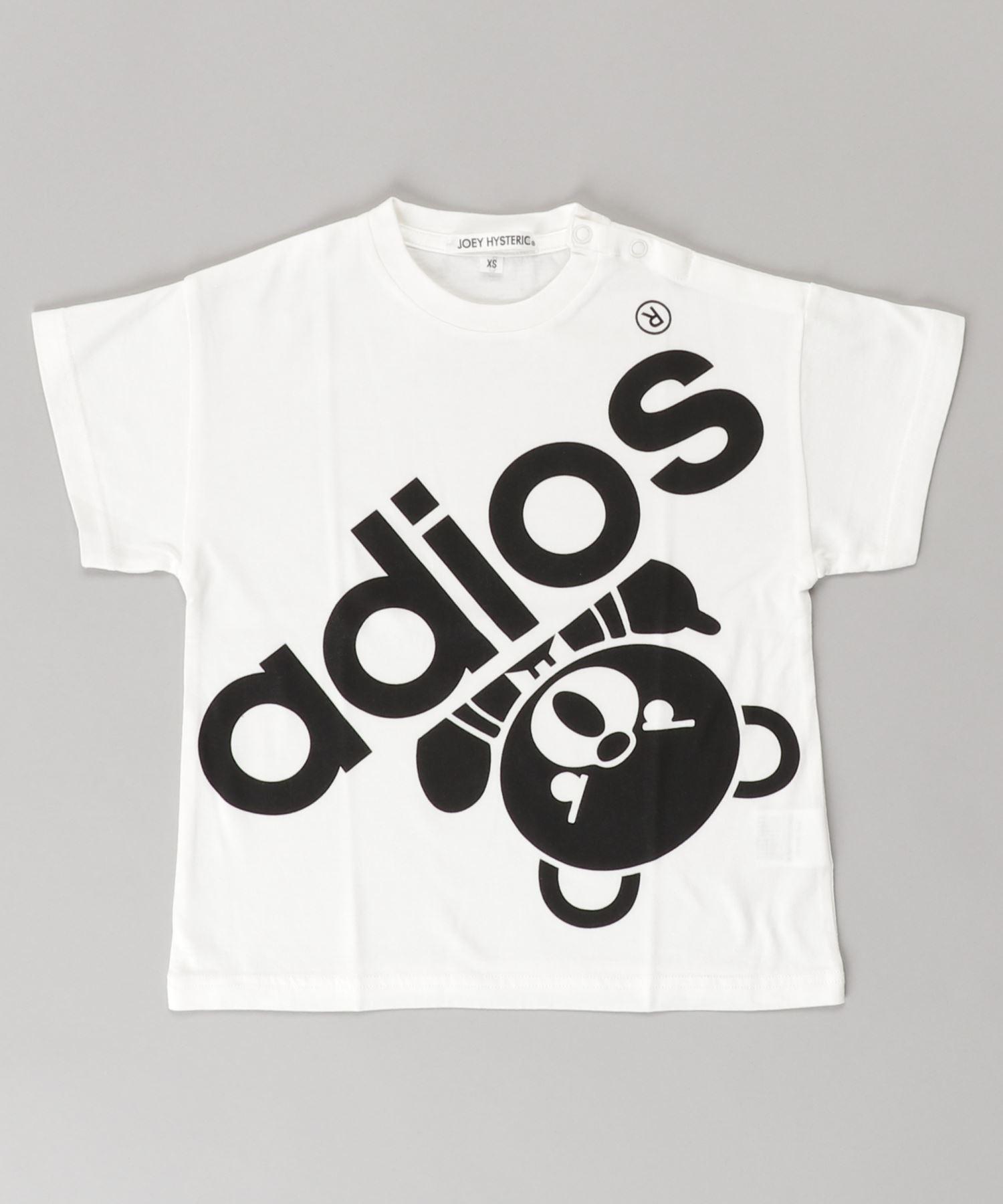 BIG ADIOS BEAR オーバーサイズTシャツ【XS/S/M】
