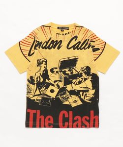 CLASH/LONDON CALLING pt Tシャツ【S/M】