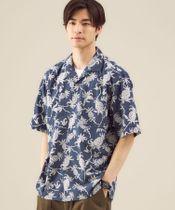 別注 [ レインスプーナー ] reyn spooner オープンカラー 半袖 シャツ