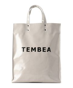 "TEMBEA / ""CANVAS TOTE REVERSE SIDE"" トートバッグ"
