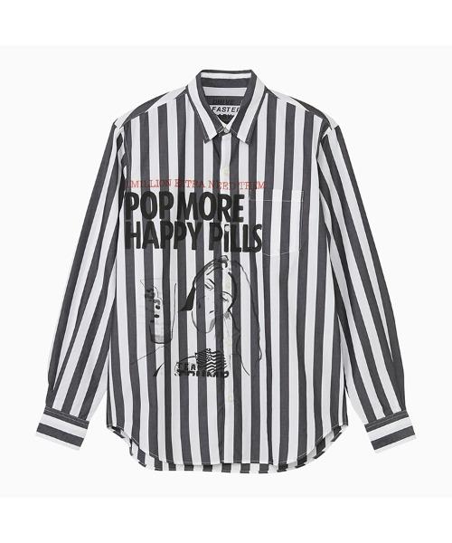 SIENA BARNES/レギュラーカラーシャツ