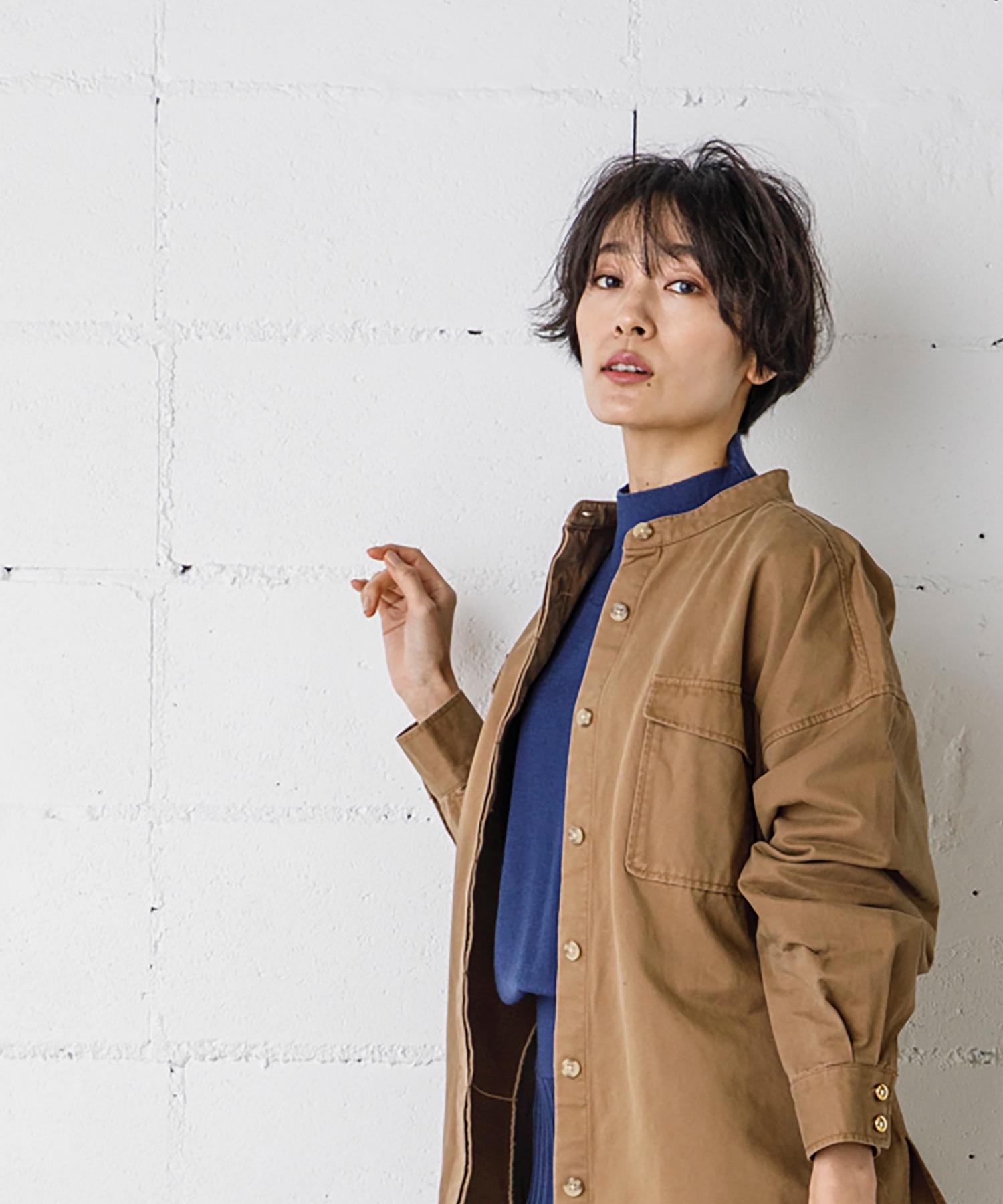 CPOシャツジャケット(オーバーサイズシャツ)