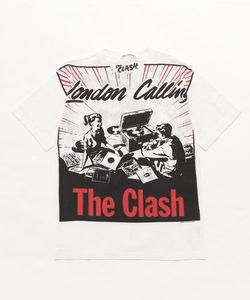 CLASH/LONDON CALLING pt Tシャツ【L】