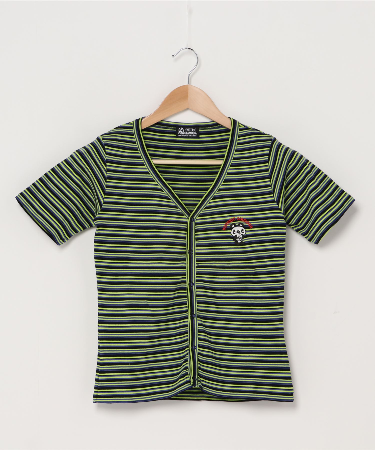 SKULL PANDA刺繍 カーディガン