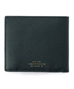 "SMYTHSON / ""4CC NOTECASE AND COIN PURSE"" 2つ折りウォレット"