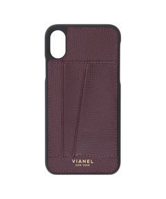 "VIANEL NEW YORK / ""Card Holder iPhone X/XS Cases"" モバイルケース"