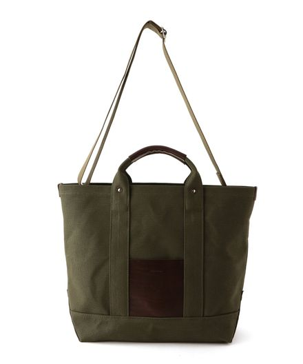 "HENDER SCHEME / ""CAMPUS BAG SMALL"" トートバッグ"