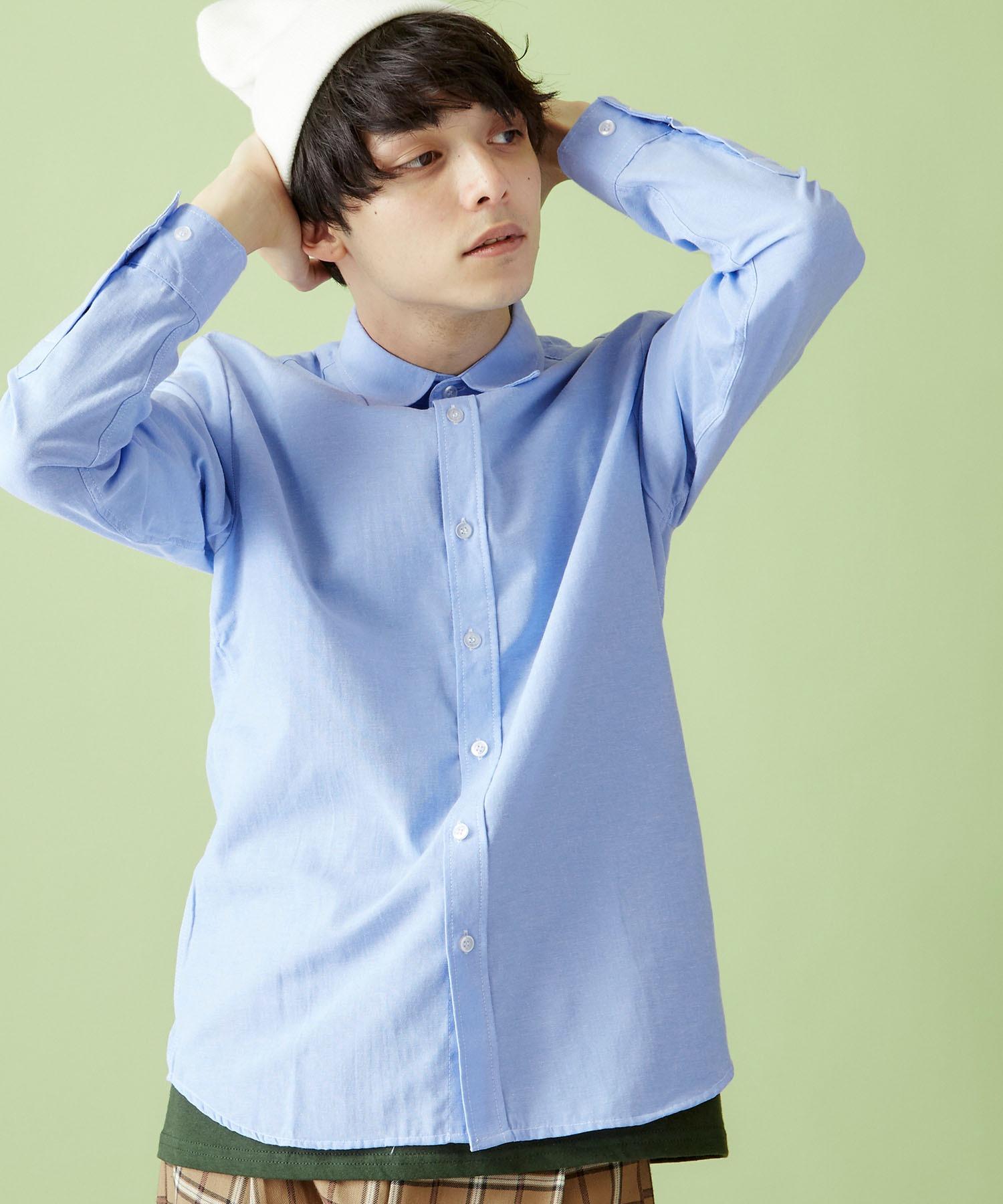 オックスフォードレギュラーカラーシャツ L/S