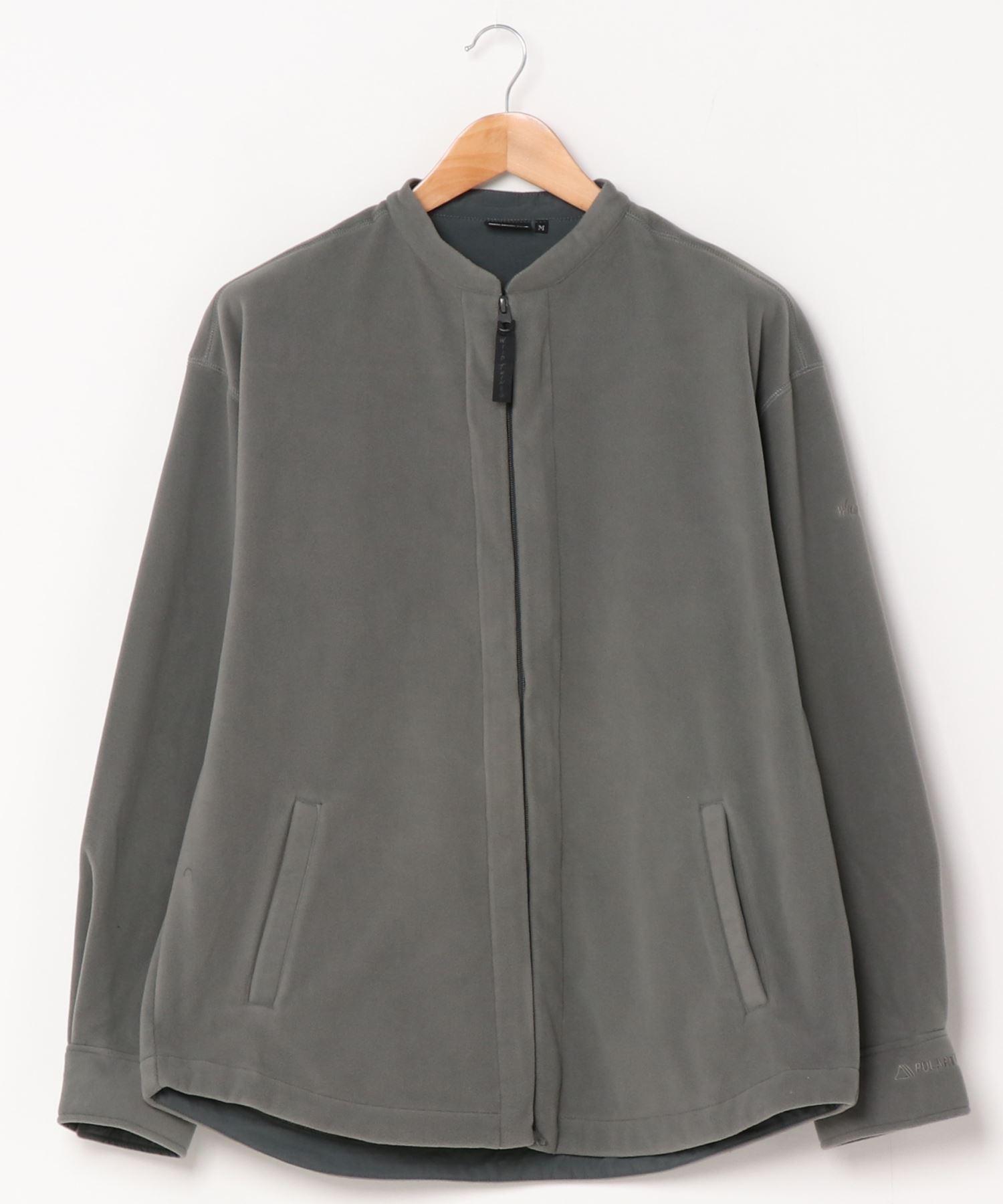 WILDTHINGS / ワイルドシングス ポーラテックバンドカラーシャツ POLERTEC BAND COLLAR SHIRT WT21138N