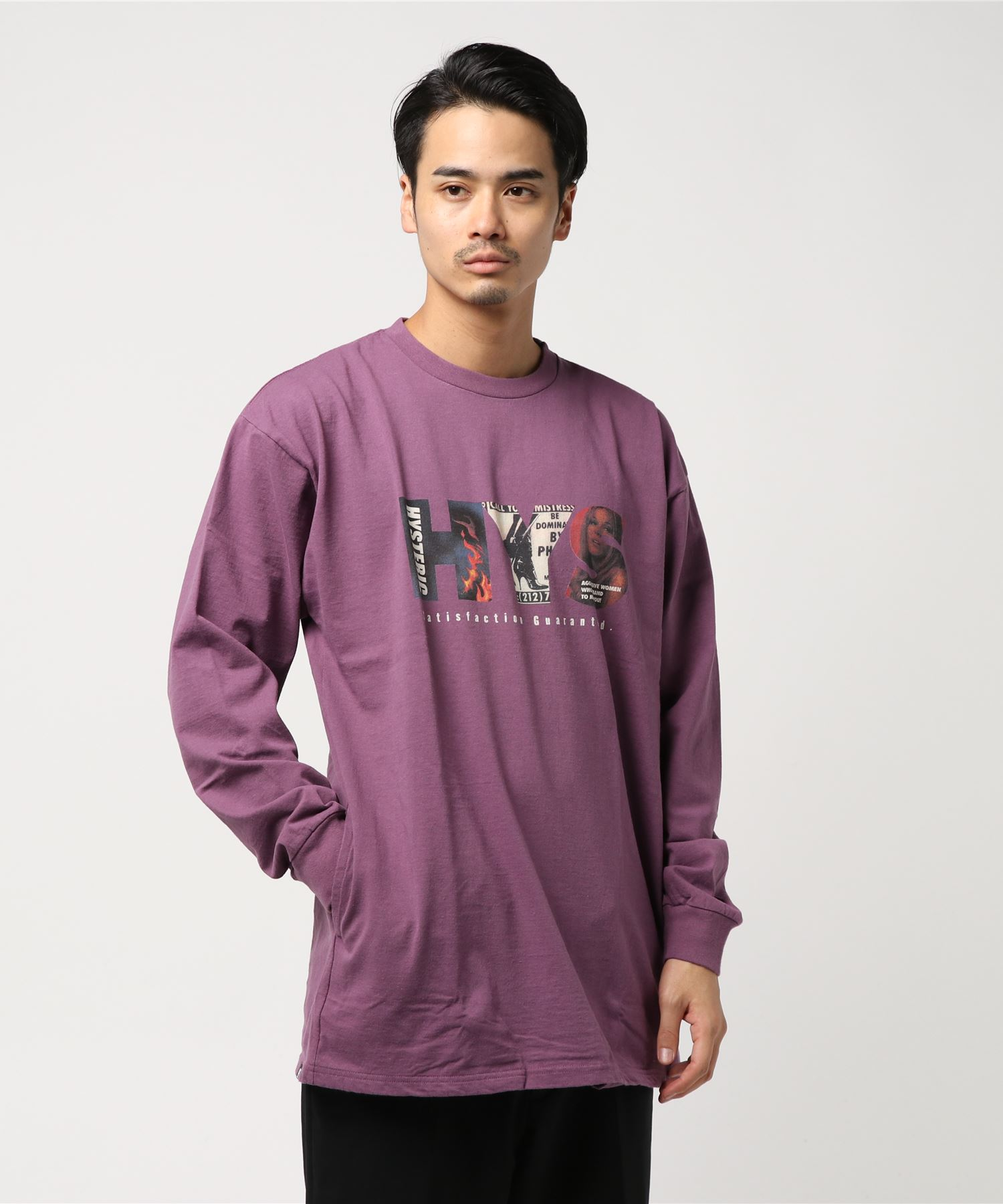 HYS SATISFACTION ポケ付Tシャツ