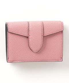 "SMYTHSON / ""MINI TRIFOLD PURSE PANAMA"" 三つ折りミニウォレット"