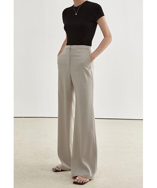 【Fano Studios】【2021SS】Wide straight suit pants FX21K023