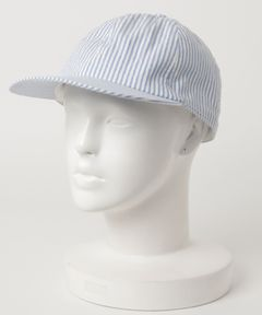 """LOCK & CO HATTERS / """"RHODES"""" シアサッカー6パネルキャップ"""