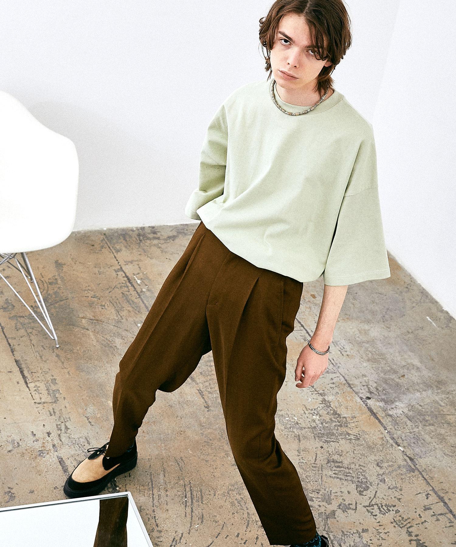 ヘビー天竺オーバーサイズS/Sカットソー EMMA CLOTHES 2021SUMMER