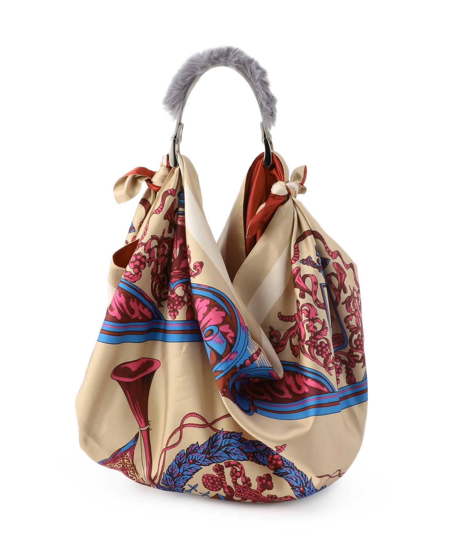 MANIPURI スカーフバッグ