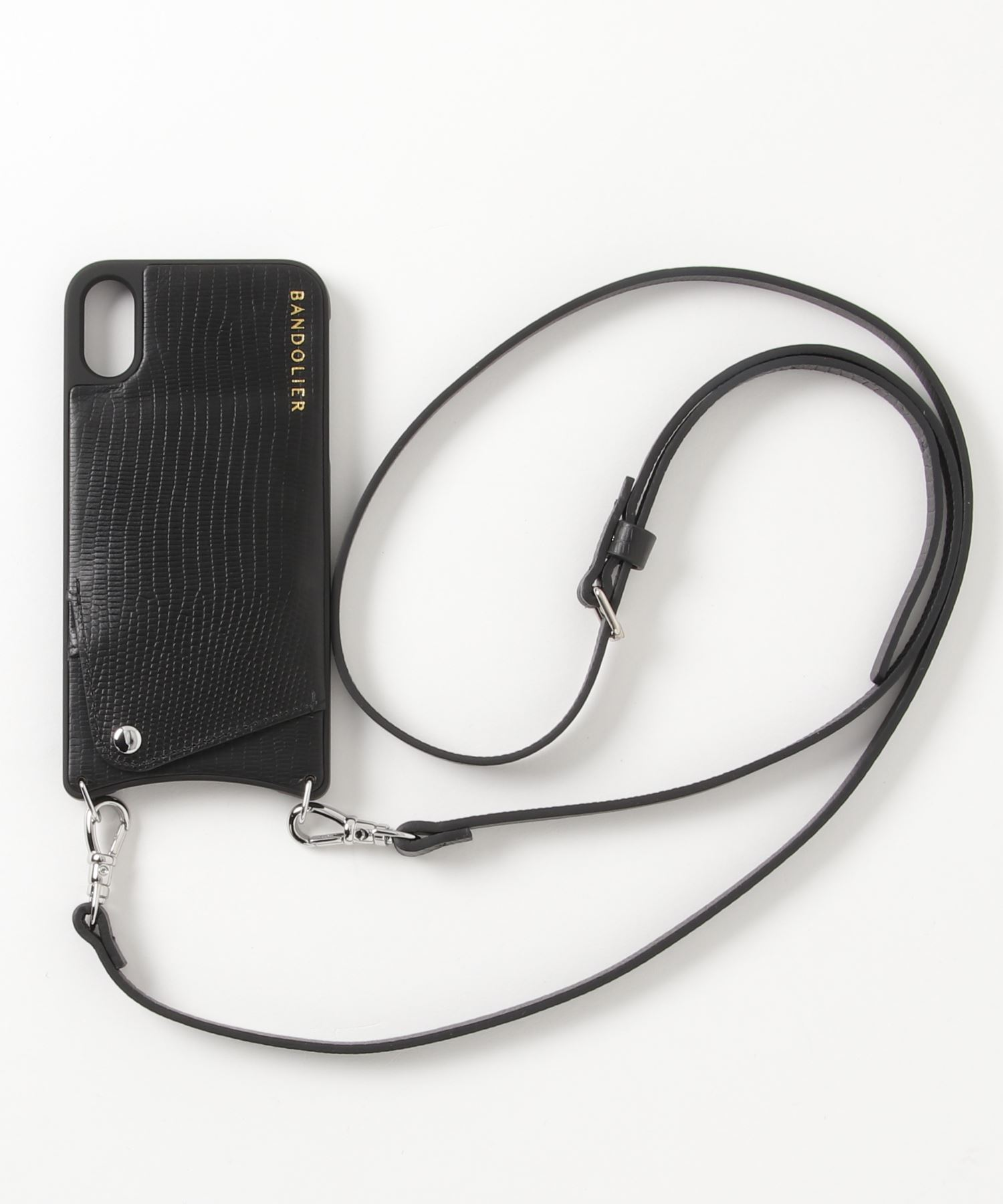 "BANDOLIER / ""EMMA WAVE"" iPhone XR ケース"