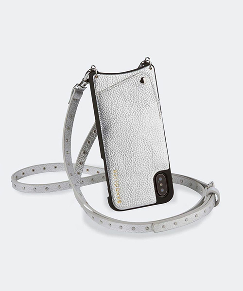 "BANDOLIER / ""NICOLE RICH SILVER"" iPhone XR ケース"