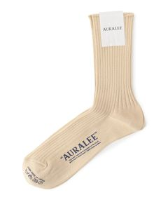 "AURALEE / ""GIZA HIGH GAUGE SOX"" ソックス"